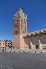 Kasbah Mosque (PhotoRys) Tags: africa old city travel streets architecture photography mosque morocco marrakech medina marrakesh narrow tombs dynasty travelblog entranceway saadian altewedrowki photorys