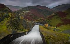 Llyn Brianee (technodean2000) Tags: trees sky lake ski water wales river is waterfall or central reservoir manmade brianne slop llyn headwaters tywi