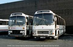 Shamrock & Rambler 3088 821228 London, Battersea [jg] (maljoe) Tags: battersea nationalexpress nationalbuscompany shamrockrambler batterseacoachpark