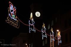 Xmas time (Bárbara Pinheiro) Tags: santa christmas ireland light clock natal lights noel claus limerick irlanda papai