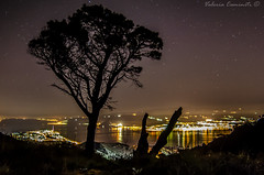 Le luci della notte mi fanno compagnia... (V@le05) Tags: light sea sky nature night star nikon mare natura cielo luci valeria notte messina citt stelle caminiti d5100