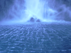 Electric Waterfall (Daddy Batt) Tags: new electric waterfall zealand fantasy sound milford milfordsound fantasylandscape