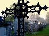the veil of oblivion (mujepa) Tags: grave graveyard cross tomb cobweb forgotten metz oblivion croix tombe cimetière oversight destinée oubli toiledaraignée therubyawardsinvitation