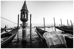 Venezia - Riva degli Schiavoni (Antonio Bruno Photography) Tags: city venice italy canon landscape photography photo bn laguna venezia bianconero 6d gondole veneto canalgrande 14mm rivadeglischiavoni samyang