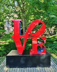 LOVE (ArtFan70) Tags: sculpture usa art love philadelphia america university unitedstates pennsylvania indiana pa penn philly cohen universitycity upenn ivyleague universityofpennsylvania robertindiana cohenhall