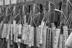 Wish (koborin) Tags: bw station blackwhite nikon taiwan bamboo taipei wish        d40  nikond40 jingtongstation  taiwanrailways  pingxiline  jingtonstreet