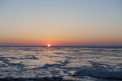 _PJY2777 (cemsrus) Tags: winter sunset ny ice frozen nikon lakeerie hamburg d700
