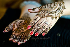 Henna in LA (B.Bubble) Tags: travel india art fashion design hands henna mehndi rajasthan udaipur adornment maplemehndi