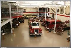 Michigan Firehouse Museum (uslovig) Tags: auto usa car station museum mi america truck fire michigan camion ypsilanti firehouse amerika feuerwehr feuerwache halle feuerwehrauto