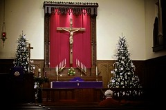 3rd Week of Advent - Traditional Divine Service (Kayakman) Tags: worship advent altar lutheran divineservice