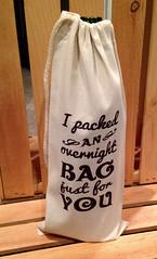 onbag1 (made by mauk) Tags: bag print screenprint wine craft liquor gift madebymauk