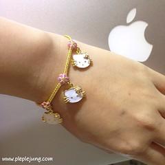 สร้อยข้อมือมาใหม่ ลายคิตตี้น่ารักมากมาย #ขายทอง #Kitty #Gold