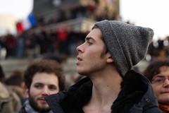 (Sébastien Joho) Tags: paris freedom january 11 demonstration charlie marc terrorism speech janvier je suis 2015 jesuischarlie