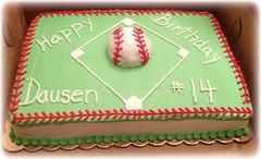 Baseball Cake, Triad Area, NC, www.birthdaycakes4free.com