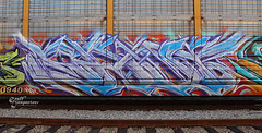 Saut (graffinspector) Tags: life california street art train painting out photography graffiti photo iron paint track artist steel tag tracks culture trains tags here graff piece aerosol burner saute tagging freight inspector saut rubble sauter freights fr8 sourthern bamc