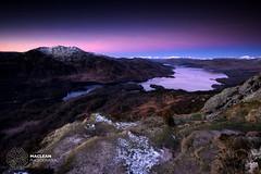 Loch Katrine and Ben Venue (MacLeanPhotographic) Tags: snow mountains scotland perthshire fujifilm thetrossachs lochkatrine xt1 benaag