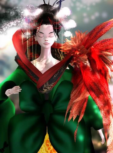 [FASHION TELLER]DOLLHOUSE: The Geisha