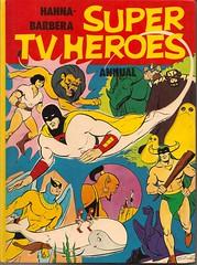 Hanna Barbera Super TV Heroes Annual 1975 (Donald Deveau) Tags: cartoon comicbook superhero spaceghost tvshow annual herculoids mobydick birdman hannabarbera shazzan 1960stv mightymightor