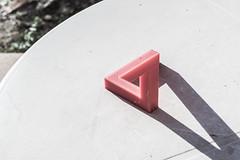 Penrose triangle (cabrera.photo) Tags: 3d triangle printed paradox penrose impreso imposible triangulo paradoja