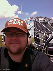 "Selfie on the Airboat • <a style=""font-size:0.8em;"" href=""http://www.flickr.com/photos/92159645@N05/16233245931/"" target=""_blank"">View on Flickr</a>"