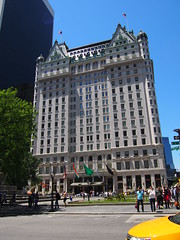 "The Plaza Hotel, where the movie ""Home Alone 2"" was shot."