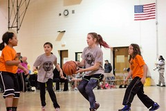 GRPS Girls Basketball Game January 17, 2015 11 (stevendepolo) Tags: girls game basketball youth high union grand rapids grandrapids montessori thirdgrade montessorischool grps unionhigh
