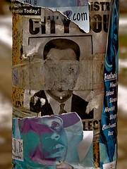 h onze anos... (bruce grant) Tags: poste cartazes rasgados dosarquivos