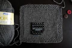 Casaquinho Bebê Comportado (tricô em prosa) Tags: baby sweater knitting handknit bebê cardigan seamless tricô casaco amostra suéter semcostura cardigã