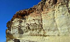 El muro de tabaire. Canteras. Cartagena (Gabriel Navarro Carretero) Tags: rock cartagena roca canteras tabaire
