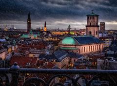 The cathedral of Copenhagen (ibjfoto) Tags: city urban copenhagen denmark cityscape cathedral danmark kopenhagen københavn urbanlandscape roundtower rundetårn vorfruekirke nationalcathedralofdenmark ibjensen ibjfoto