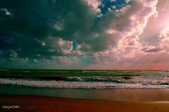 sky (alice 240) Tags: travel sunset sea sky italy colour tourism water colors clouds landscape nikon europa europe flickr poetry italia tramonto mare ngc dream cielo ostia paesaggio lazio nationalgeographic crepuscolo autofocus afotando simplysuperb nikonflickrawardgold