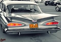 1959 Chevy (Pomona Swap Meet) Tags: blackandwhite chevrolet chevy taillights 1959 chevyimpala 1959chevyimpala pomonaswapmeet pomonafavorites