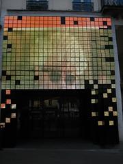 LED faade star (Ladybadtiming) Tags: red paris squares led faade movietheater paris13 gobelins almodovar fauvette