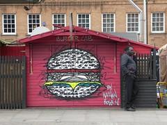 Burger Lab (stillunusual) Tags: uk travel england urban streetart london wall graffiti mural cityscape streetphotography wallart urbanart shoreditch urbanlandscape urbanscenery 2016 travelphotography ldn travelphoto urbanwalls londonstreetart travelphotograph londonstreetphotography wallporn graffitiporn