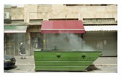 (Gabriela Gleizer) Tags: street people urban green film analog religious israel kodak jerusalem 200 jewish melancholy orthodox mea shearim colorplus