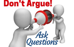 Dont Argue: Ask Questions (lieforly14319) Tags: blogger aruna kumar