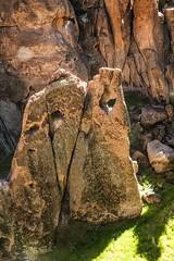 Grotto Tower (wyojones) Tags: california tower window arch wind arches canyon monolith preserve thewall mojavedesert tuff volcanicrock holeinthewall grottocanyon mojavenationalpreserve igneousrocks nationalparksystem bansheecanyon bobholliman
