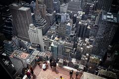 Top of the rock - NYC (Photoeirik) Tags: city nyc newyorkcity newyork topoftherock metropole