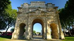 """""""Arc de Triomphe"""" - Orange (Vaucluse, Provence, France) (Lautergold) Tags: orange provence arcdetriomphe unescoworldheritage unescowelterbesttte unescopatrimoinemondial"""