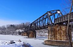 B&O / FM&P trestle (photography_isn't_terrorism) Tags: railroad trestle bridge train wv westvirginia bo monongahela fmp monongahelariver