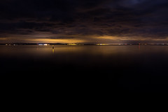 Clyde (Aaron J Barber) Tags: longexposure sea night clouds scotland clyde ship harbour wave ayr sodium corrie isleofarran buoy lightpollution ayrshire ardrossan saltcoats