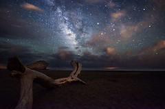 Playa de Monsul (jazmin.jung) Tags: astrophotography astrofotografia playademonsul almeria longexposure milkyway vialactea stars estrellas galaxy universe mediterraneo beach nightsky nikon d7000