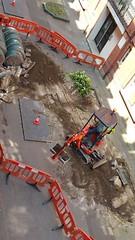 20160609_141825 (Carol B London) Tags: tarmac courtyard charcoal e1 wedge sgc ids stepney londone1 stepneygreen newlayout newsurface charcoalbricks steneygreencourt wedgeengineering