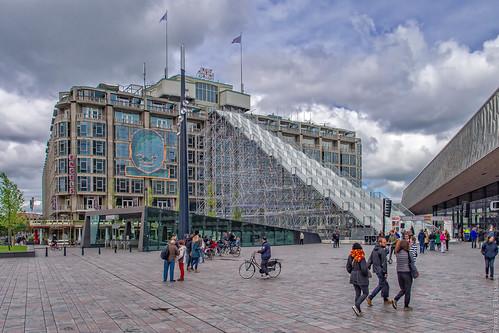 01/12 - Opening van 'De Trap' - Groothandelsgebouw - City of Rotterdam - Rijksmonument