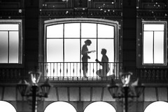 Precious Moments - Chapter 1 (Rob₊Lee) Tags: preciousmoments projectionmapping ginza tokyo mikimoto noiretblanc bw