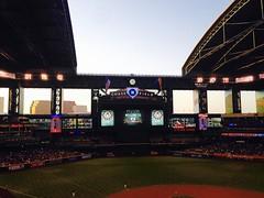 Chase Field - Open Roof (solewalker) Tags: phoenixaz arizonadiamondbacks mlb sports baseball