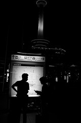 L9990628 (yama_d) Tags: tower station silhouette kyoto