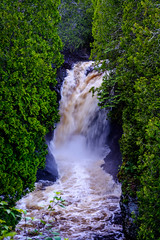 Cascade Falls State Park || Summer 2014 (manaelm1) Tags: greatlakes northshore lakesuperior