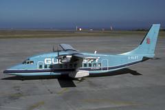 G-BLRT-1-EGJJ-JUN1989 (Alpha Mike Aviation Photography) Tags: jer short jersey guernsey egjj gblrt short360 guernseyairlines