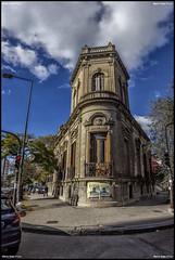 Palacio Campodonico (MarioVolpi) Tags: argentina argentine architecture clouds la arquitectura cloudy palace cielo plata hdr palacios canon60d